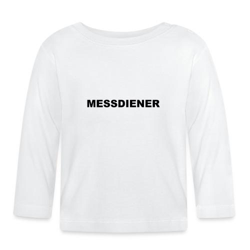 MESSDIENER - blue|white (Boys) - Baby Langarmshirt