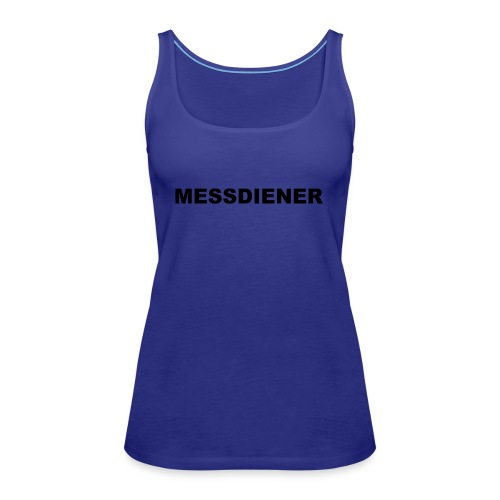 MESSDIENER - blue|white (Boys) - Frauen Premium Tank Top