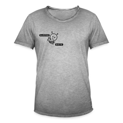 Summsebiene - Männer Vintage T-Shirt
