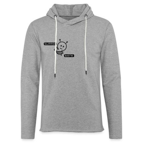 Summsebiene - Leichtes Kapuzensweatshirt Unisex