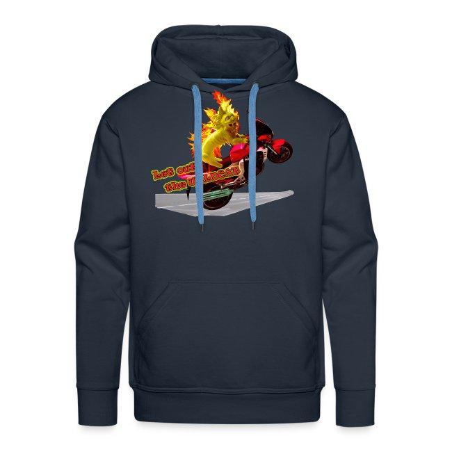 Let out the wildcat, sweatshirt