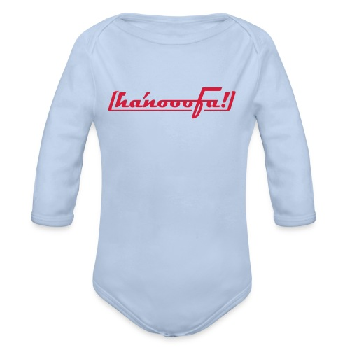 ABSOLUT HANNOVER BEKENNER JUNGS-SHIRT - Baby Bio-Langarm-Body