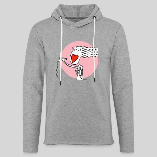 lovesong - Leichtes Kapuzensweatshirt Unisex