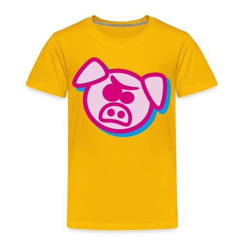 Angry pig - Kids' Premium T-Shirt