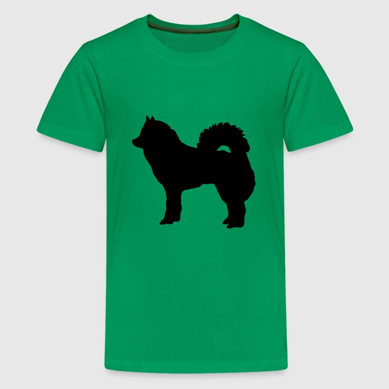 Kelly green Hund - Eurasier Kinder T-Shirts - Teenager Premium T-Shirt