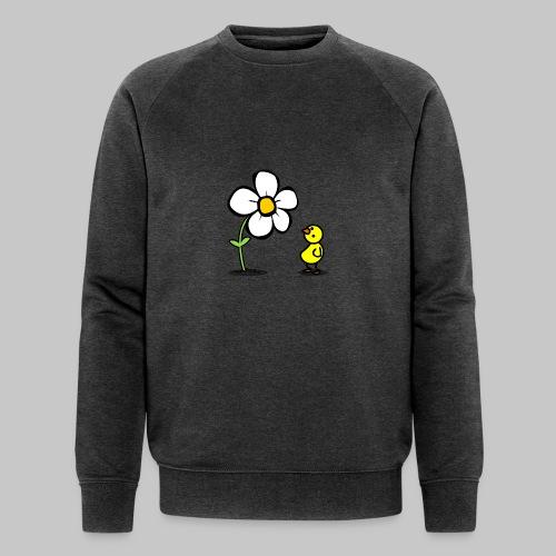 Vogel Blumeshirt (farbig) - Männer Bio-Sweatshirt von Stanley & Stella