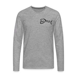 m´kay - okay - Men's Premium Longsleeve Shirt