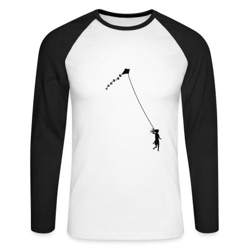 Let´s go fly a kite! - Men's Long Sleeve Baseball T-Shirt