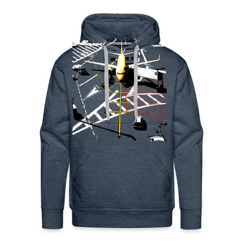 airport | Std.shirt - Männer Premium Hoodie