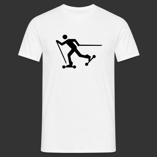 Nordic Skating - Männer T-Shirt