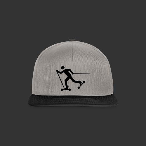 Nordic Skating - Snapback Cap