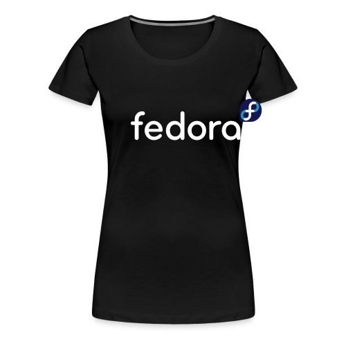 Dark_background_orig - T-shirt Premium Femme