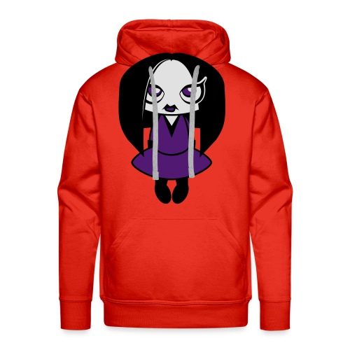 Creepy Girl - Mannen Premium hoodie