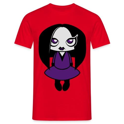 Creepy Girl - Mannen T-shirt