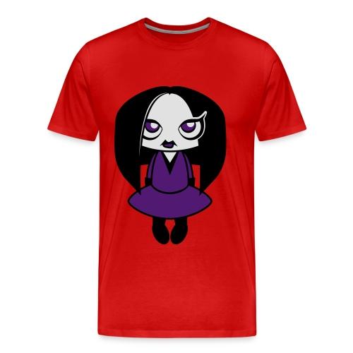 Creepy Girl - Mannen Premium T-shirt