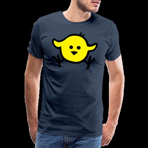 Girlieshirt  Piepmatz - Männer Premium T-Shirt
