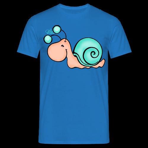TeenieShirt Schnucki Schneck  - Männer T-Shirt