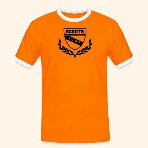 Scout College - Kinder - Männer Kontrast-T-Shirt