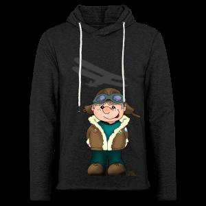 KinderShirt Quaggs, der Bruchpilot - Leichtes Kapuzensweatshirt Unisex