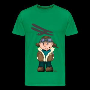 KinderShirt Quaggs, der Bruchpilot - Männer Premium T-Shirt