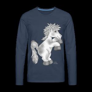 KinderShirt Apfelschimmel - Männer Premium Langarmshirt