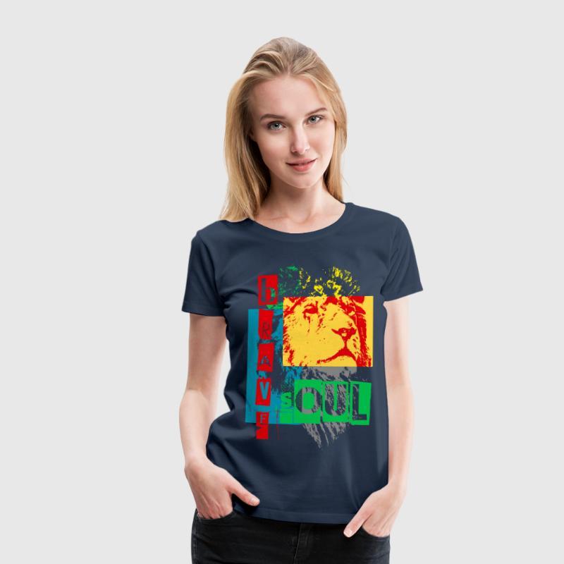brave soul - Dame premium T-shirt