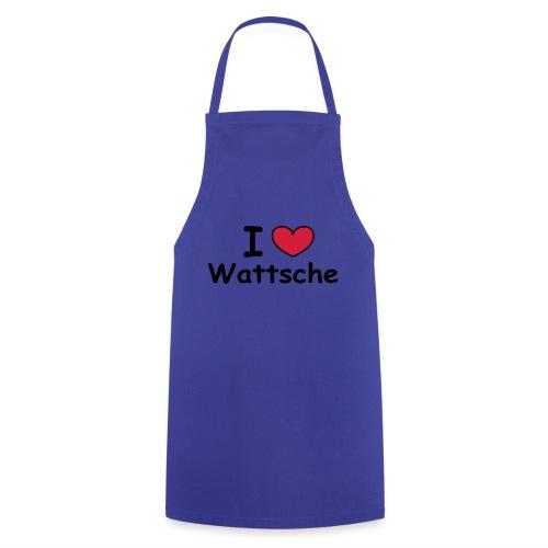 I ♥ Wattsche - Girlieshirt - Kochschürze