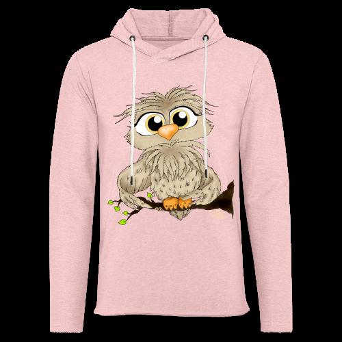 TeenShirt Käuzchen Hugo - Leichtes Kapuzensweatshirt Unisex