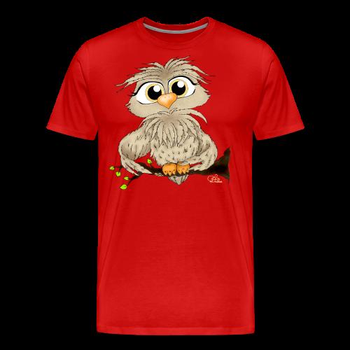 TeenShirt Käuzchen Hugo - Männer Premium T-Shirt