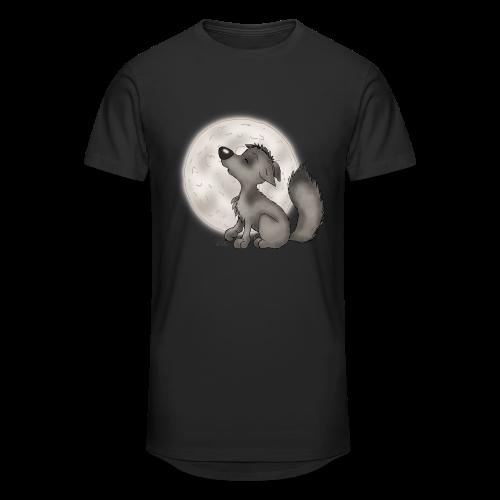 TeenieShirt Wölfchen - Männer Urban Longshirt
