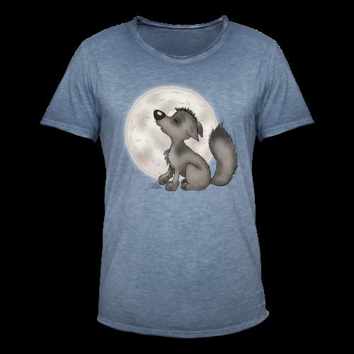 TeenieShirt Wölfchen - Männer Vintage T-Shirt