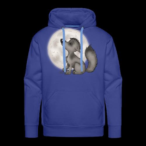 TeenieShirt Wölfchen - Männer Premium Hoodie