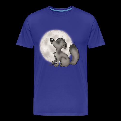 TeenieShirt Wölfchen - Männer Premium T-Shirt