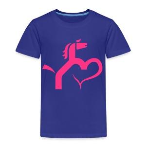 Ein Herz für Pferde - Kinder Premium T-Shirt