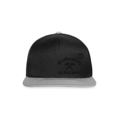 Ruhrpott - Auf Kohle geboren - T-Shirt - Snapback Cap