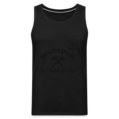Ruhrpott - Auf Kohle geboren - T-Shirt - Männer Premium Tank Top