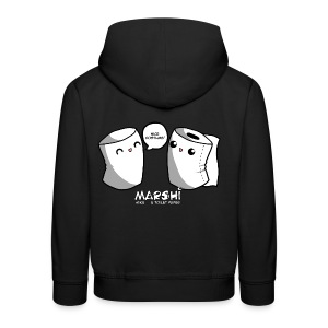 Marshi Mike & Toilet Paper by Chosen Vowels - T-Shirt BOYS - Kinder Premium Hoodie