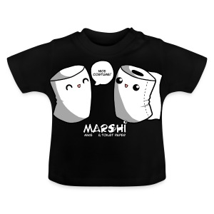 Marshi Mike & Toilet Paper by Chosen Vowels - T-Shirt BOYS - Baby T-Shirt