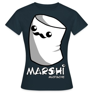 Marshi Moustache LIKE A SIR by Chosen Vowels - Shirt BOYS - Frauen T-Shirt