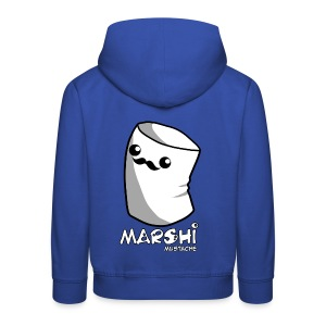Marshi Moustache LIKE A SIR by Chosen Vowels - Shirt BOYS - Kinder Premium Hoodie