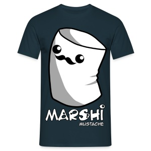 Marshi Moustache LIKE A SIR by Chosen Vowels - Shirt BOYS - Männer T-Shirt