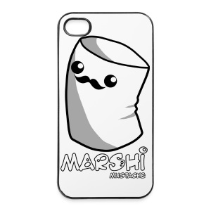 Marshi Moustache LIKE A SIR by Chosen Vowels - Shirt BOYS - iPhone 4/4s Hard Case