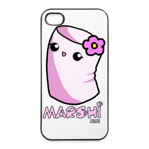 Marshi Mimi Marshmallow by Chosen Vowels - Shirt Girls - iPhone 4/4s Hard Case