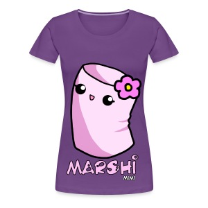 Marshi Mimi Marshmallow by Chosen Vowels - Shirt Girls - Frauen Premium T-Shirt