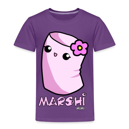 Marshi Mimi Marshmallow by Chosen Vowels - Shirt Girls - Kinder Premium T-Shirt