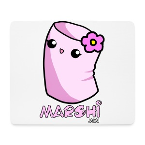 Marshi Mimi Marshmallow by Chosen Vowels - Shirt Girls - Mousepad (Querformat)