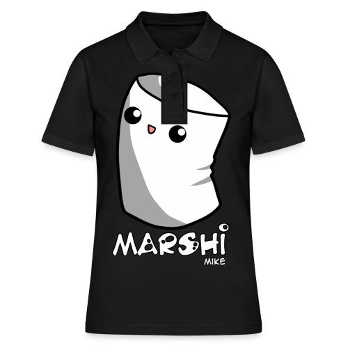 Marshi Mike Marshmallow by Chosen Vowels - Shirt Boys - Frauen Polo Shirt