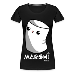 Marshi Mike Marshmallow by Chosen Vowels - Shirt Boys - Frauen Premium T-Shirt