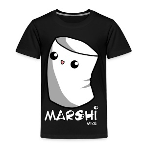 Marshi Mike Marshmallow by Chosen Vowels - Shirt Boys - Kinder Premium T-Shirt