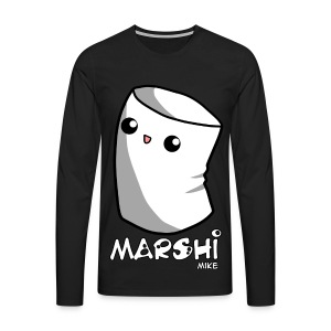 Marshi Mike Marshmallow by Chosen Vowels - Shirt Boys - Männer Premium Langarmshirt